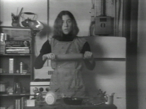 Semiotics Of The Kitchen 1975 Video Purchase Museum Modern Art Www Moma Org Collection Browse Results Php Object Id 88937