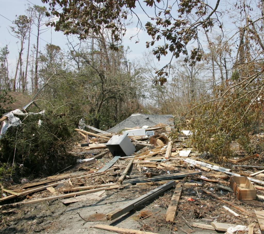 "Bradford, Judith ""Street Debris."" Waveland, 3 September 2005."