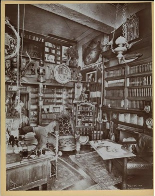 Fig. 3. Joseph Byron, Views of interiors, New York City, 1899. © New York Historical Society (Manuel Charpy).