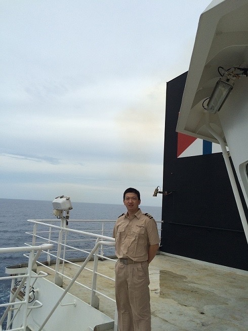 Training master Wang XiaoShun, whom I met during my voyage